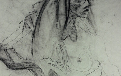 Drawings on textile